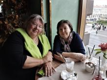 Meeting with soroptimists from Germany