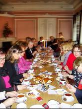 Reception of Imatra club soroptimists