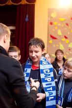 Meeting with Zenit goalkeeper