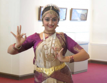 Classical Indian dance performance